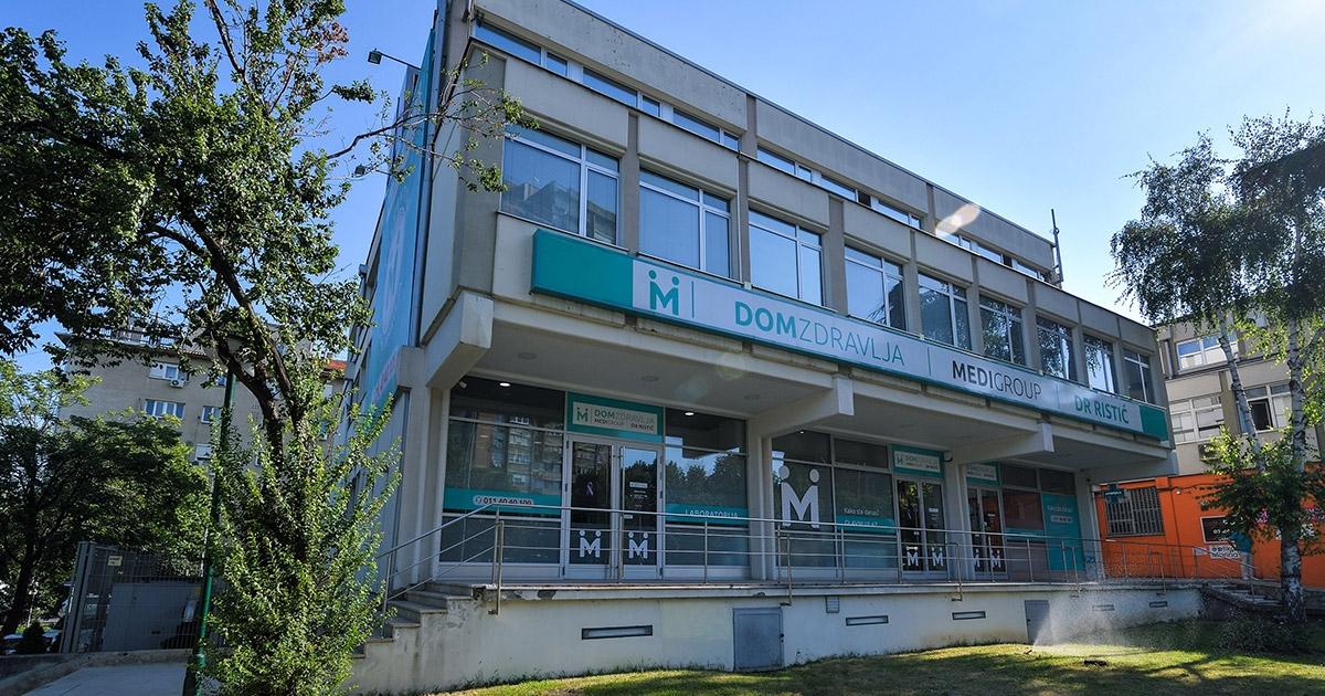 Dom Zdravlja Dr Ristic Pariske Komune Novi Beograd Medigroup